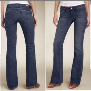 Hollywood Hills - Paige Slim Bootcut Jeans -S 30